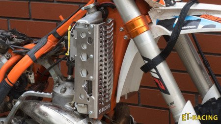 Radiator Guards KTM 08-16 Husqvarna 14-16 + SPAL FAN