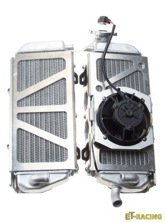 Radiator Guards with FAN KIT for TPI, FUEL INJECTED KTM Husqvarna 17-22 GAS GAS 21-22