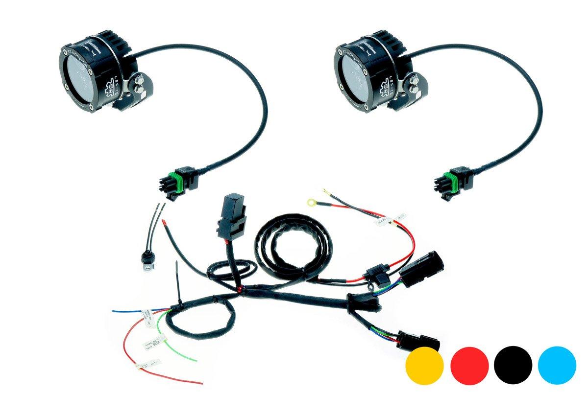 Lampa Led Dual.4 z mocowaniem standardowym + wiązka
